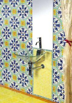 Mosaico Vietrese da Francesco De Maio #Napoli #Pozzuoli #Marano #Campania #madeinitaly #caiazzocentroceramiche