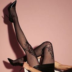 Philippe Matignon Fishnet, Hosiery, Fancy, Sexy, Gift, Socks, Sock, Pantyhose Legs, Tights