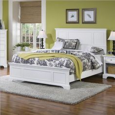 Home Styles 5530-500 Naples Queen Bed, White Finish by Home Styles, http://www.amazon.com/dp/B00369YWWO/ref=cm_sw_r_pi_dp_k3pgrb1905MJF
