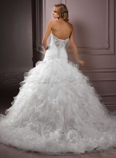 Cheap Ball Gown Wedding Dresses | ball gown wedding dresses with sweetheart neckline and blingViewing ...