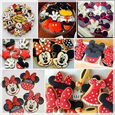 Mickey y Minnie, ideas para tu mesa de dulces.