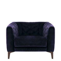 Natuzzi Editions Renato Armchair, Fabric | Sofas | Living Room