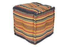 Love this tufted pouf that Justina Blakeney picked for her sale today!