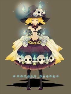 Candle Witch by *ririkuto on deviantART