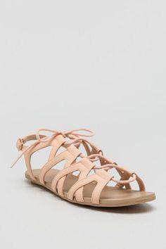 Tisha Lace-Up Sandal $28.00