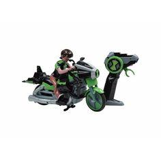 Moto Aliencycle Ben 10 Controle Remoto 07 Funções Candide - R$ 159,00 no MercadoLivre