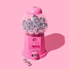 Don't be afraid to sparkle a little brighter today! (via the super fab Everything Pink, Disco Ball, Pink Walls, Color Stories, Pink Aesthetic, Pastel Pink, Picture Wall, Wall Collage, Pink Color