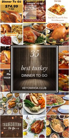 35 Best Turkey Dinner To Go In 2020 Thanksgiving Cooking Cooking Thanksgiving Turkey Thanksgiving Recipes Side Dishes