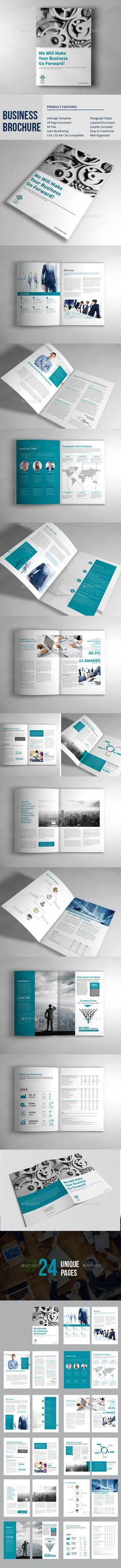 Multipurpose Business Brochure Template InDesign INDD #design Download: http://graphicriver.net/item/multipurpose-business-brochure/13760884?ref=ksioks