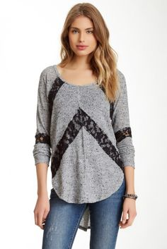 Flying V Hacci Sweater