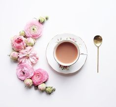 My Favourite Flower – Julia Smith Coffee Latte, I Love Coffee, Coffee Break, Coffee Time, Coffee Shop, Tea Time, Coffee Mornings, Coffee Corner, Coffee Lovers