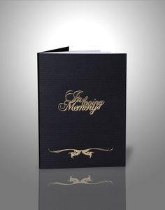 Funeral booklets design & print, funeral order of service, online order Funeral Order Of Service, Booklet, Helping People, Memories, Traditional, Personalized Items, Black, Memoirs, Black People