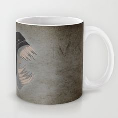 TOXIC BAT MAN Mug by Salina Ayala - $15.00