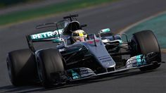 Australian GP 2017, 2nd placed Lewis Hamilton, Mercedes AMG