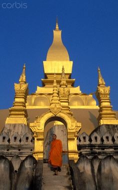 Wat Pha That Luang, Vientiane, Laos