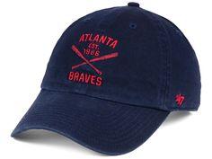 quality design 90e59 1e9f3 Atlanta Braves  47 MLB Axis  47 CLEAN UP Cap