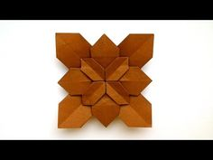In this video I show you how to fold beautiful origami hydrangea designed by Shuzo Fujimoto. Here is a link to Shuzo Fujimoto Origami books found where this . Origami Sheets, Origami Quilt, Origami And Kirigami, Origami Stars, Modular Origami, Origami Folding, Origami Easy, Origami Wall Art, Paper Crafts Origami