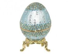 Swarovski Crystal Russian Faberge Imperial Easter Egg