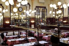 Restaurant Le Bouillon Chartier - Famous restaurant in Paris that totally lives up to it's hype.