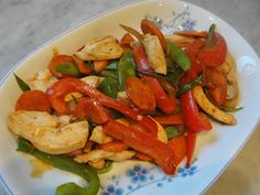 Chicken & Vegetable Stir-fry - delicious, simple and healthy weeknight dinner