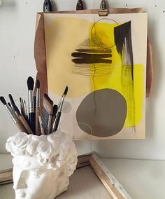 Outstanding artwork piece made of acrylic paints for art by a modern artist in contemporarytechnique of LikaMellow . Yellow Painting, Modern Artists, Marketing And Advertising, Create Yourself, Meditation, Trending Outfits, Unique Jewelry, Handmade Gifts, Artwork