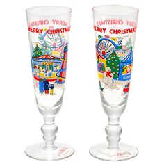 Set of 2 Christmas Champagne Glasses | Home for Christmas | CathKidston  Chin Chin! #CKCrackingChristmas Christmas Mood, Christmas Is Coming, All Things Christmas, Merry Christmas, Holiday, Cath Kidston Christmas, Christmas Morning Breakfast, Vintage Christmas Images, Wine Goblets