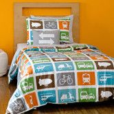 Found it at DwellStudio - Transportation Duvet Set