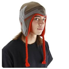 Elope Men's Thor Movie Laplander Hat, Brown/Red, One Size  Price : $12.44 http://www.thinkfasttoys.com/Elope-Mens-Movie-Laplander-Brown/dp/B007AD7FY4