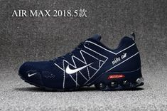on sale 4a097 83f31 Mens Nike Air Max 2018. 5 Shox KPU Navy Blue White Footwear Crecer Cabello,