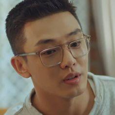 Korean Men, Korean Actors, Kelly Wearstler, Asian Man Haircut, Yoo Ah In, You Make Me Happy, Vintage Design, Best Actor, Haircuts For Men