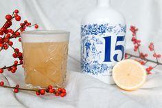 Glögi sour 2: gin sour Blossalla