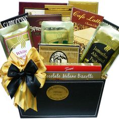 Amazon.com : Art of Appreciation Gift Baskets Coffee Lovers Care package Gift Box : Gourmet Coffee Gifts : Grocery & Gourmet Food