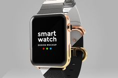 Buy Smart Watch Design Mockup by Modisana on GraphicRiver. A high resolution photoshop document of a Apple Watch modelled and rendered in For app design mockups and present. Web Mockup, Mockup Templates, Card Templates, App Design, Free Design, Apple Watch Models, Business Card Mock Up, Cool Logo, Presentation Design