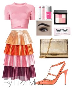"""Trendy"" by lizz-med on Polyvore featuring moda, T By Alexander Wang, Delfi Collective, Valentino, Michael Kors, Boohoo, Bobbi Brown Cosmetics y Christian Dior"