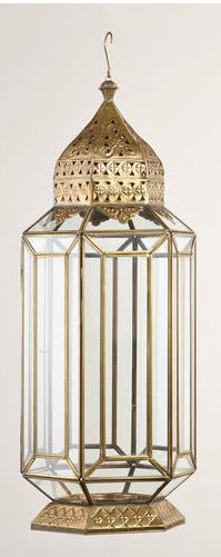 metal facet lantern I fantastic for my moroccan indoor glamping idea for Vday (see more below)  #pintowinGifts & @giftsdotcom