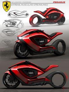 INSPIRATION : Moto et concept de véhicule pour Arietta Norton.