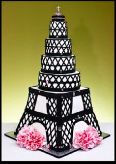 #Eiffel tower #cake