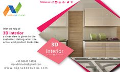 With the help of 3d interior, a clear view is given to the customer stating what the actual end product looks like. For more information visit our website. #nipra3dstudio,#3dexterior,#3dvisulisation,#3dwalkthrough,#3darchitectural,#likeme,#followme,#3drendering,#3ddesign.