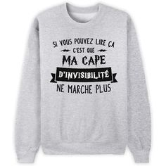 [Harry Potter] Cape d'invisibilité ne marche plus Harry Potter Cape, Harry Potter Shirts, Mode Harry Potter, Harry Potter Universal, Harry Potter Humour, Sassy Shirts, Cool T Shirts, Tee Shirts, Herbst Outfits 2018