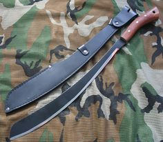 From the Jungles of Malaysia comes the Condor Parang Machete, an extremely well balanced heavy machete that will slice as well chop. The Parang is distal tapered and tapered from the spine to the edge to make one of the most high performance large cutting blades on the market today.