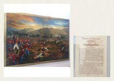 Óleo a la Batalla de Ayacucho en Casa Museo Batallón No. 14 de Infantería - Quinta Brigada del Ejército de Colombia