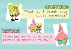 Wait, did Spongebob just come up with a deep and meaningful quote?!?