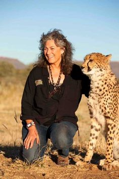Laurie Marker, Founder and Executive Director of Cheetah Conservation Fund