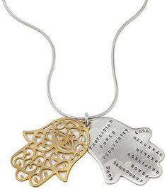 Protection Hamsa Necklace