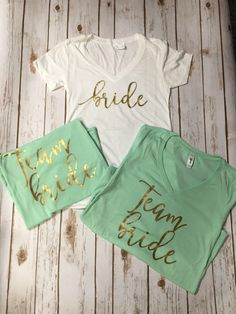 Team Bride Bachelorette Party Bridesmaid Shirts TANKS ALSO AVAILABLE- team bride, bride shirt https://notyourmommasvinyl.myshopify.com/products/team-bride-bachelorette-party-bridesmaid-shirts-customizablebridesmaids, bachelorette party shirts