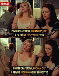 #milosc #cytaty #sekswwielkimmiescie #sexandthecity #satc #carriebradshaw #moda #filmowe #popolsku #helter #filmy #kino Lol, Thoughts, Humor, Memes, Quotes, Sisters, Cinema, Quotations, Humour