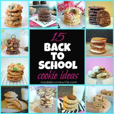 Back To School Cookie Round Up   Inside BruCrew Life GO THROUGH