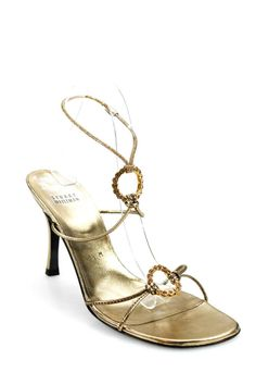811b7d62c3bc Stuart Weitzman Womens Open Toe Faux Crystal Sandals Gold Tone Size 8.5   fashion  clothing  shoes  accessories  womensshoes  sandals (ebay link)