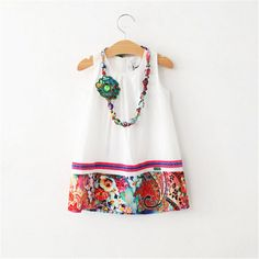 Cheap dresses evening dresses, Buy Quality dress ad directly from China dresses for wide hips Suppliers: Girl Dress 2015 Summer New Casual Girl Suspender Dress And Necklace Catimini Kid Band Clothes Children Meninas Roupa