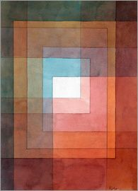 Paul Klee White Framed Polyphonically Poster at Posterlounge ✔ Fast delivery ✔ Large selection ✔ High quality prints ✔ Buy Paul Klee posters now! Acrylic Painting Lessons, Oil Painting Abstract, Abstract Art, Oil Paintings, Watercolor Artists, Indian Paintings, Painting Art, Watercolor Painting, Landscape Paintings